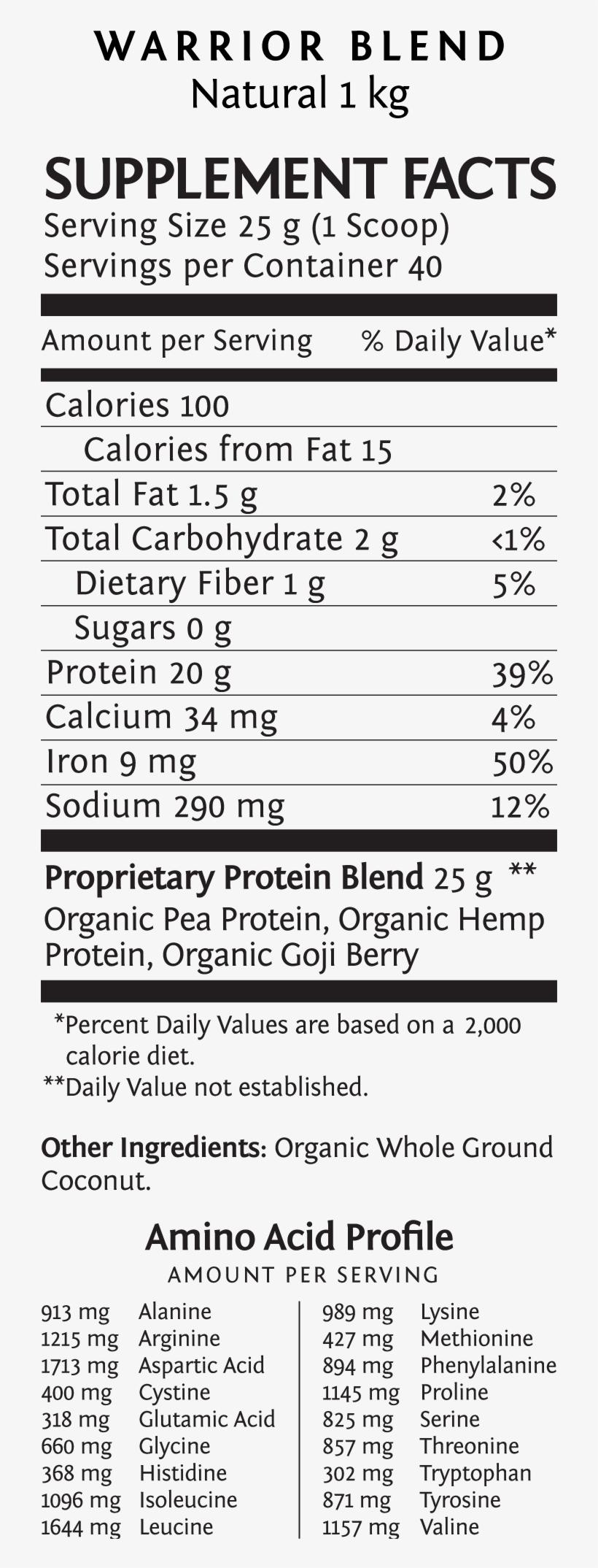 Warrior Blend Natural Protein Powder - Sun Warrior Sun Warrior Natural Rice Protein, transparent png #5569860