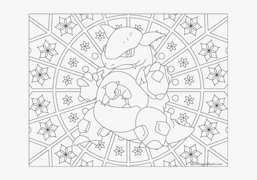 Kangaskhan Pokemon Coloring Pages For Charmander Squirtle And Bulbasaur Free Transparent Png Download Pngkey