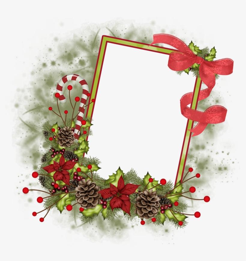 Paper Frames, Png Format, Digital Scrapbooking, Christmas - Verymany Png Christmas Cluster Frame, transparent png #5578964