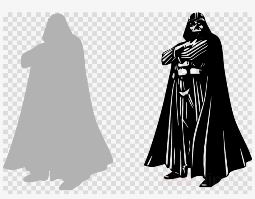 Darth Vader Clipart Anakin Skywalker Star Wars Decal - Darth Vader Star Wars Wall Art Sticker Vinyl. 50x100cm., transparent png #5579417