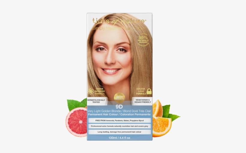 Medium Golden Blonde Natural Hair, transparent png #5584800