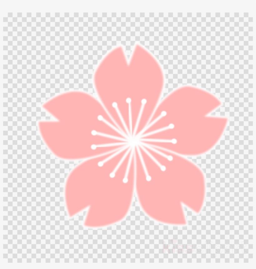 Sakura Png Clipart Cherry Blossom Clip Art - Cherry Blossom Drawing, transparent png #5587276