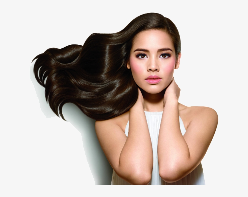 Hair Growth Transparent Background Png - Women And Hair Png, transparent png #5590217