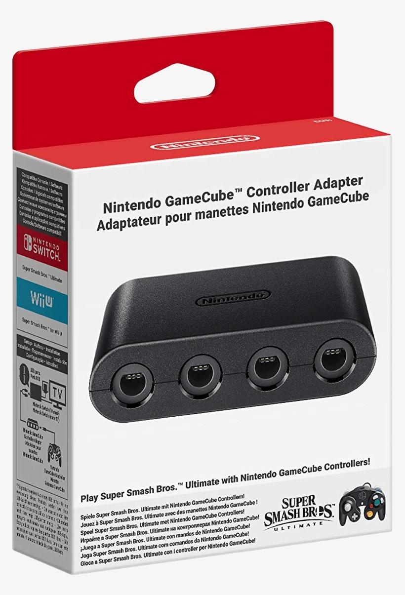 Nintendo Gamecube Controller Adapter - Super Smash Bros Ultimate Gamecube Controller Adapter, transparent png #5590611