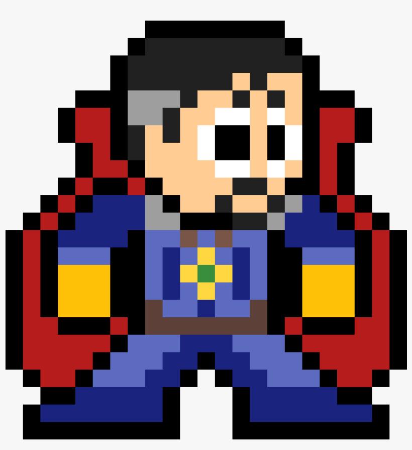 Random Image From User Infinity War Iron Man Pixel Art