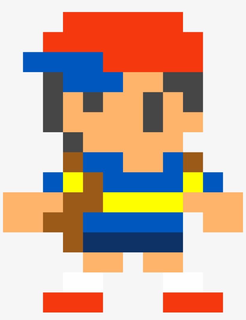 Supermario Sticker - Super Mario Maker Mystery Mushroom Ness, transparent png #5593350