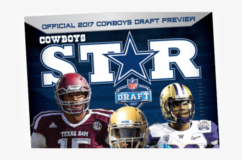 Over 500 Total Players Listed - Dallas Cowboys Star Magazine Draft Preview 2017 Issue, transparent png #5593683