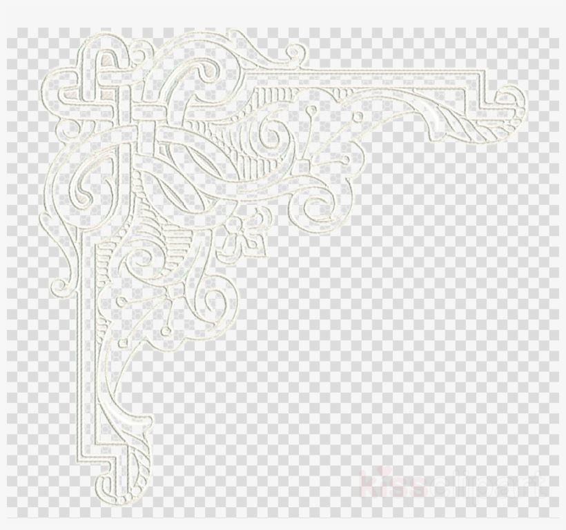 lace corners png clipart lace clip art - frame pastel png - free transparent  png download - pngkey  pngkey