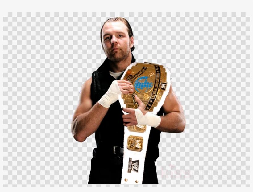 Download Wwe Dean Ambrose United States Championship - Dean Ambrose, transparent png #5594593
