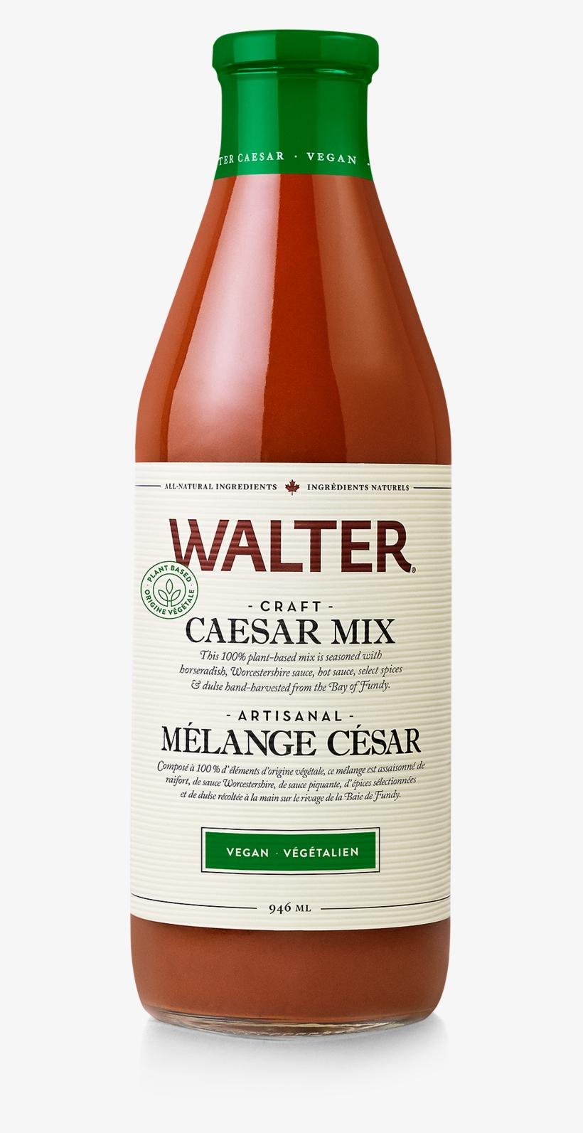 Walter - Caesar Mix - Vegan, 946ml - Walter All-natural Craft Caesar Mix Classic Spice, transparent png #5595473