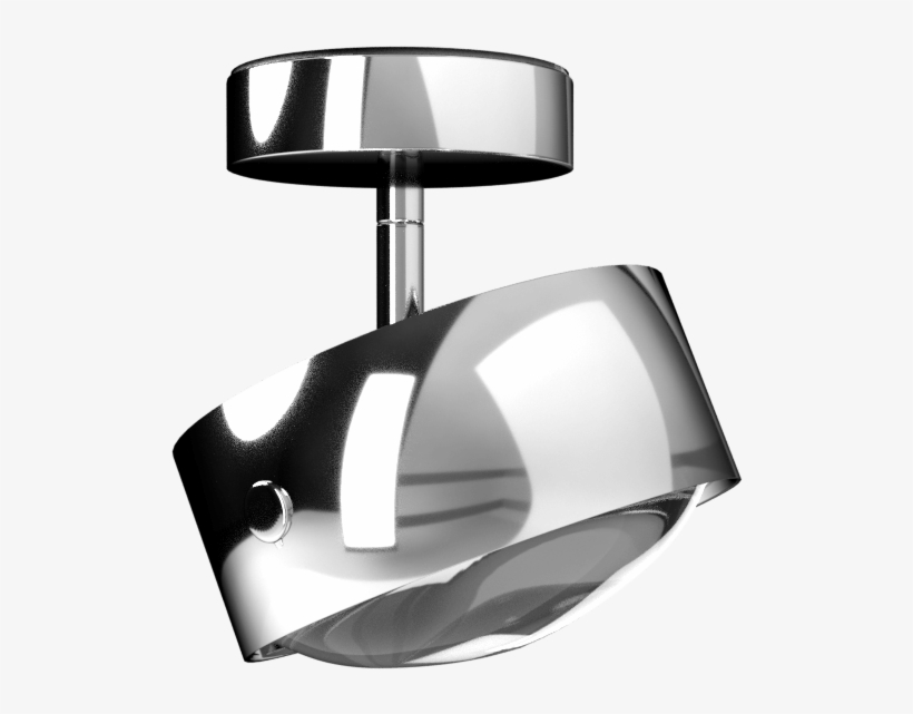 Top Light Puk Maxx Turn Up/down Led Ceiling Lamp, transparent png #5598337