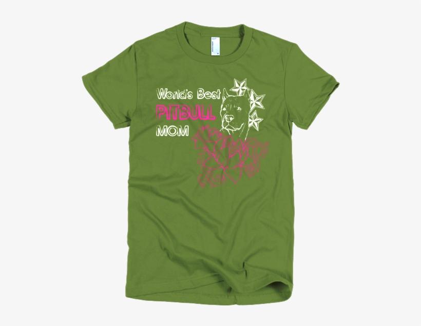 Best Pitbull Mom - Pitbull Love T Shirt, transparent png #561220