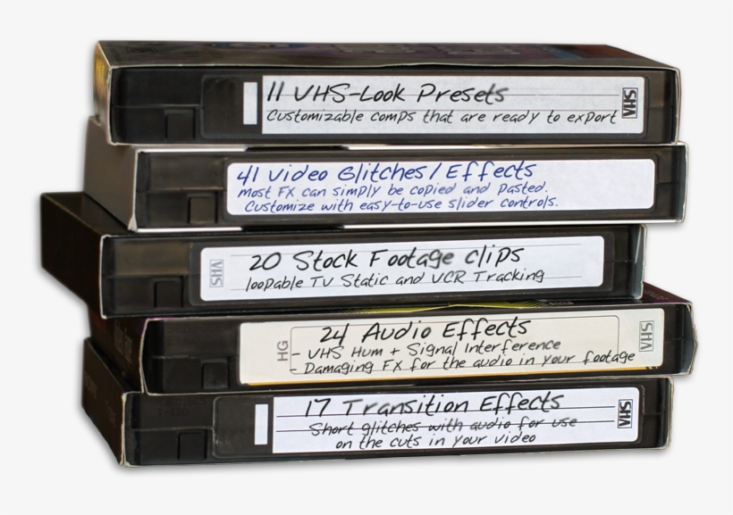 Vhs Static Png - Vhs Tape Transparent - Free Transparent PNG