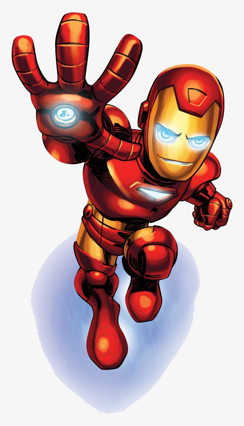 Complete Kit With Frames For Invitations, Labels For - Marvel Super Hero Squad Iron Man, transparent png #563612
