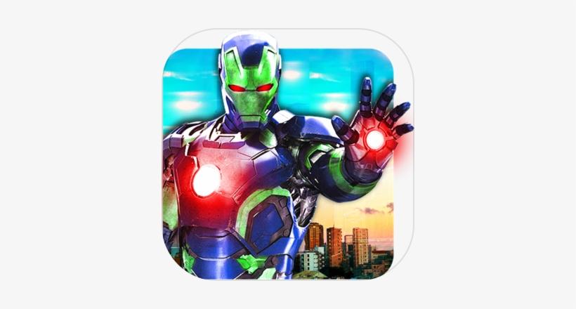 Grand Ninja Super Iron Hero Flying Rescue Mission - Avengers