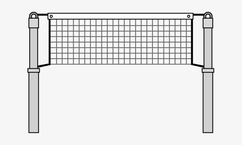 Vector Volleyball Net - Volleyball Net Clipart, transparent png #564596