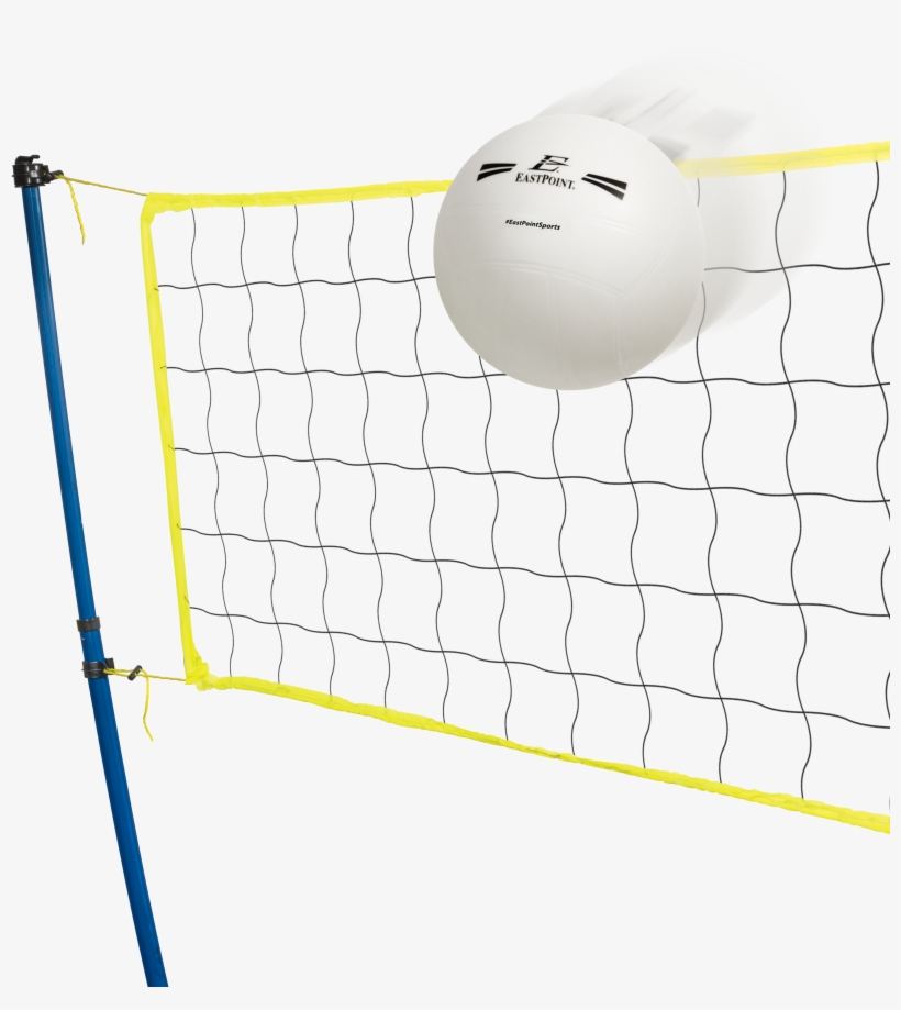 Eastpoint Sports Easy Setup Portable Tripod Volleyball - Net, transparent png #564732