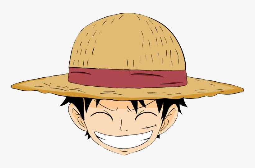 Mentahan Gambar Kepala Anime One Piece Png Cartoon - Kepala Luffy One Piece, transparent png #564892