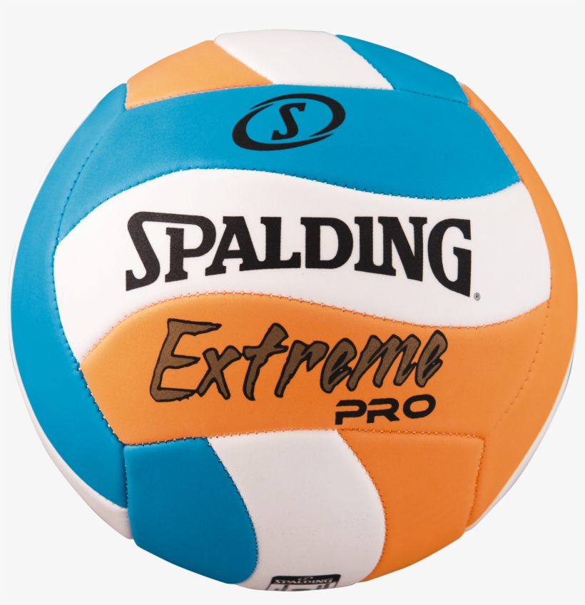 Extreme Pro Wave Volleyball Png Spalding Volleyball - Spalding Extreme Pro Wave Tpe, Blue, transparent png #564996