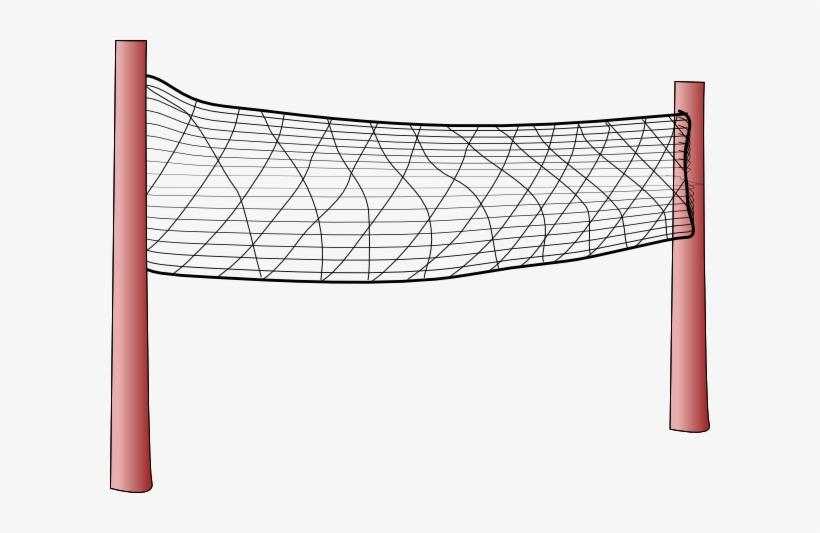 Volleyball Net Clip Art At - Volleyball Net, transparent png #565091