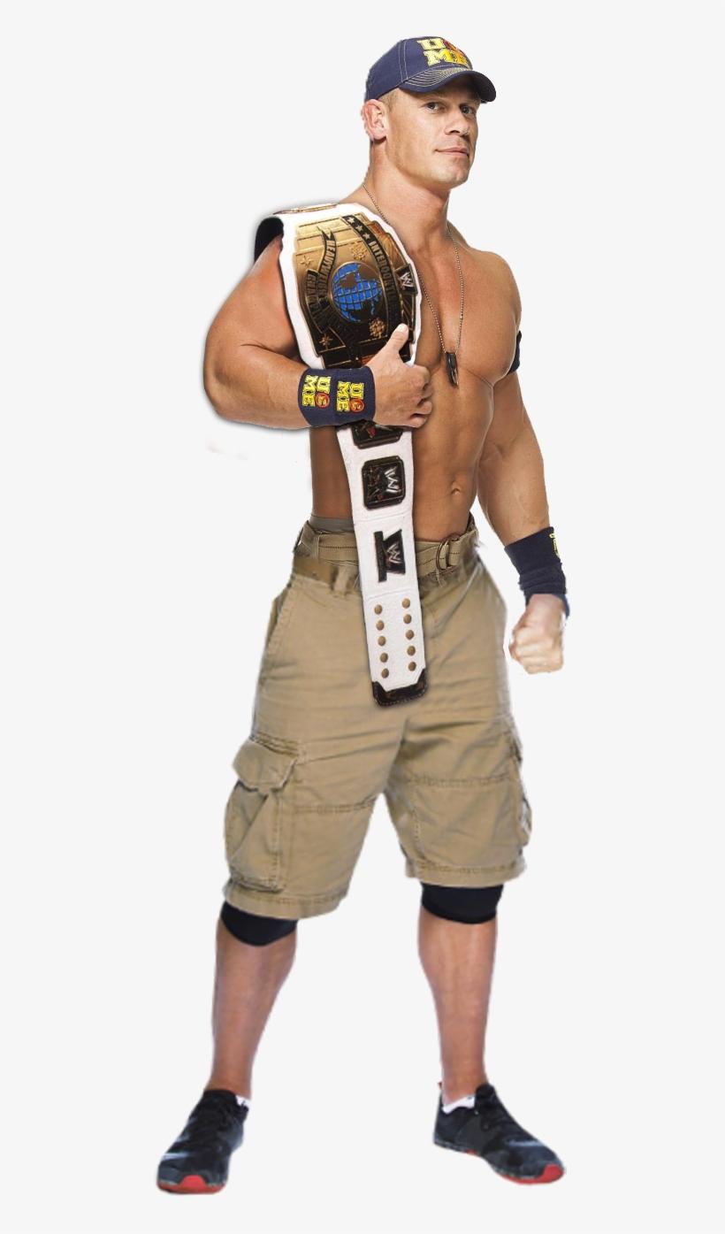 John Cena Intercontinental Champion By Tobiasstriker - Wwe Seth Rollins Intercontinental Champion, transparent png #566012