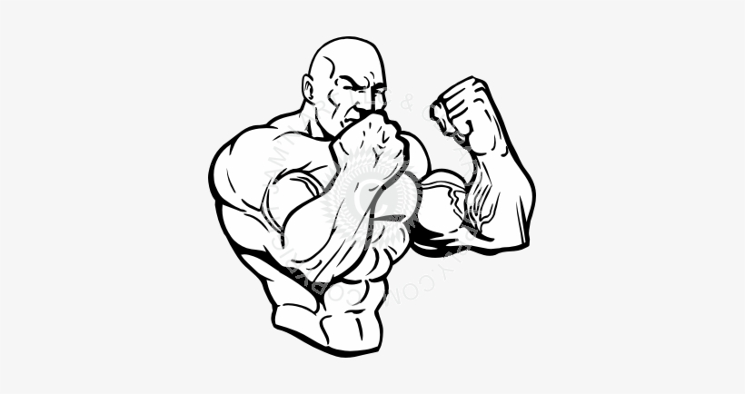 Png Freeuse Stock At Getdrawings Com Free For Personal - Muscle Man Vector Png, transparent png #567174