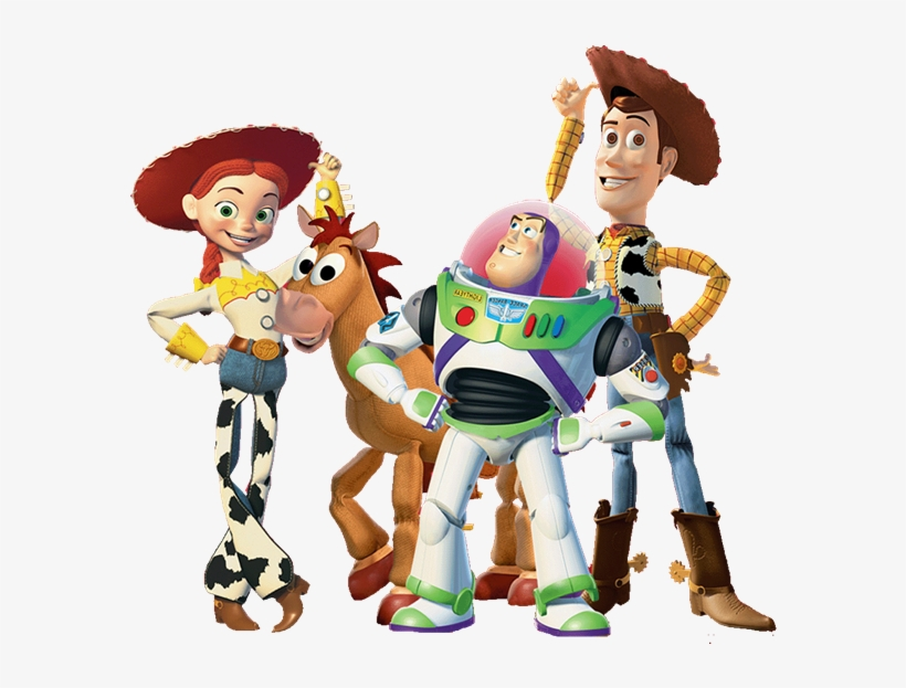 All Images From Collection - Read-to-me Book And Cd: Toy Story, transparent png #569072