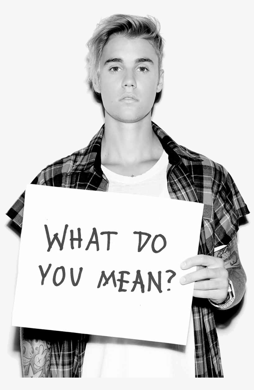 What Do You Mean - Justin Bieber What Do You Mean, transparent png #5600119