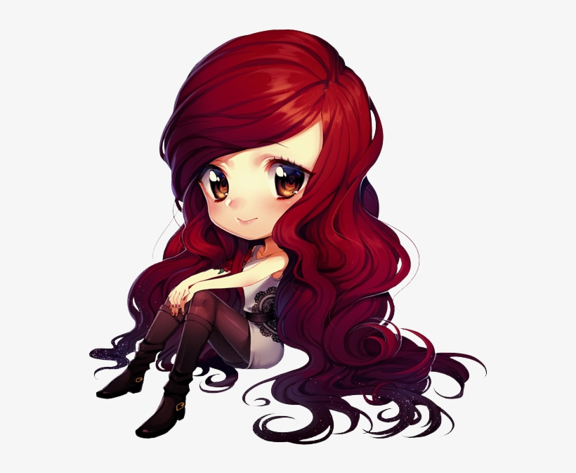 Anime Girl Chibi Png - Chibi Anime Girl Png, transparent png #5600991