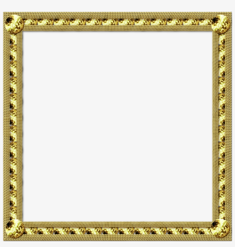 Gold Frame By Jssanda Borders For Paper, Drugs, Moldings, - Art Deco Gold Picture Frame, transparent png #5604723