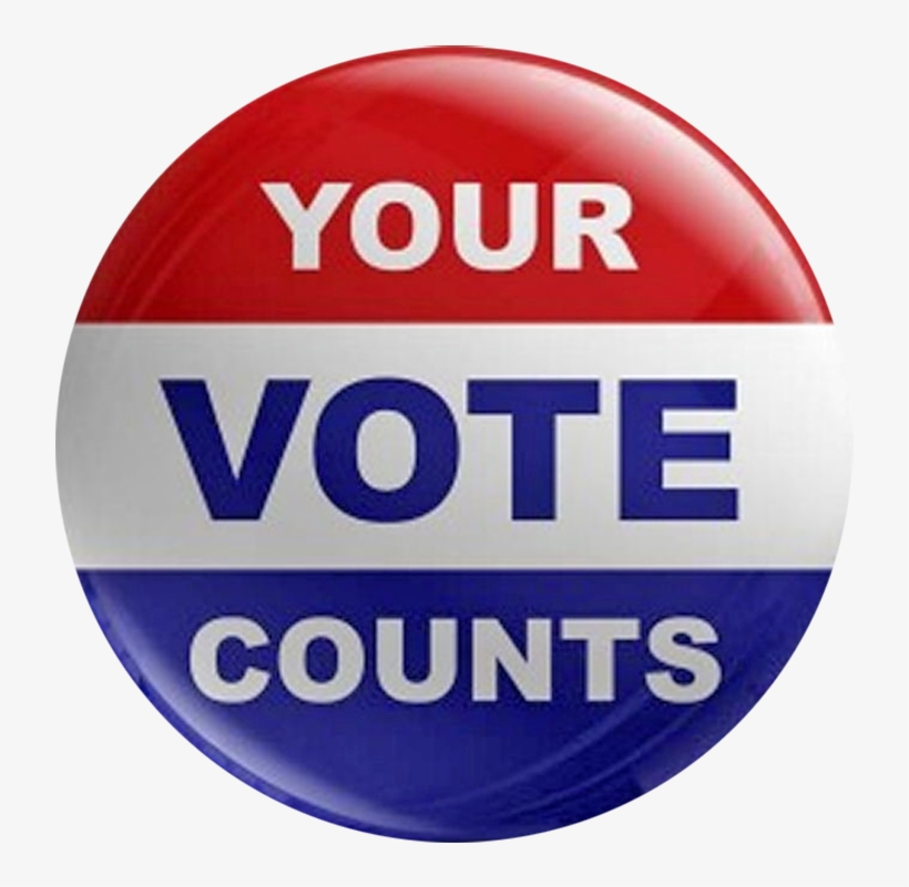 Finally The Election Is Here Cast Your Vote, Come To - Your Vote Counts, transparent png #5620815