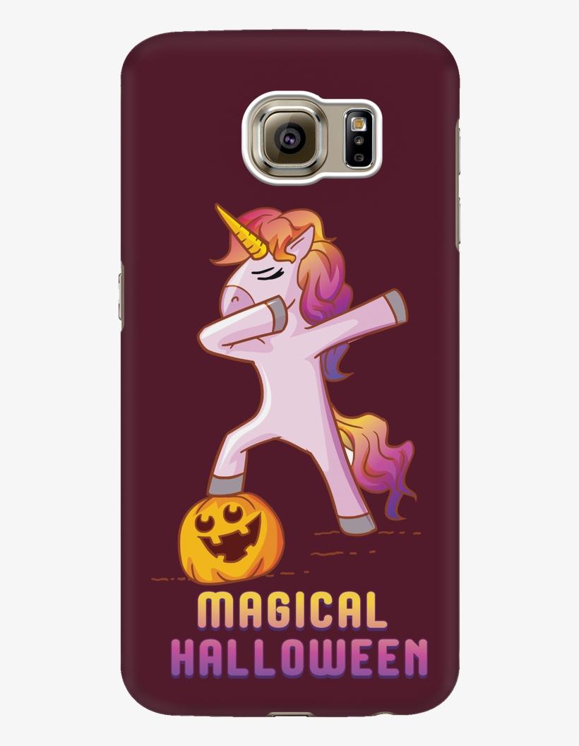 low priced 2ab94 816ca Dabbing Halloween Unicorn Phone Case For Samsung, Gifts - Halloween ...