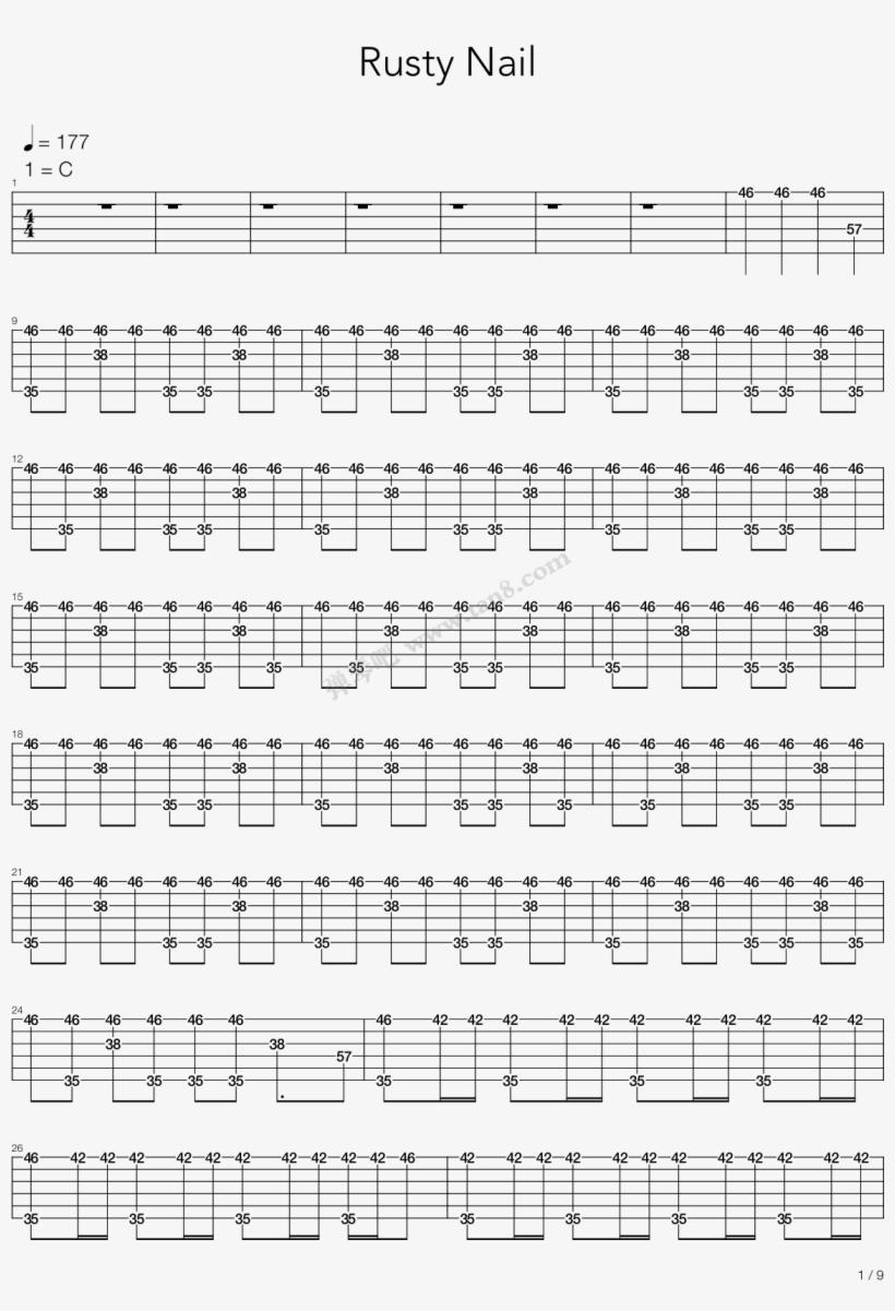 Print - Star Wars Cello Sheet Music, transparent png #5635079