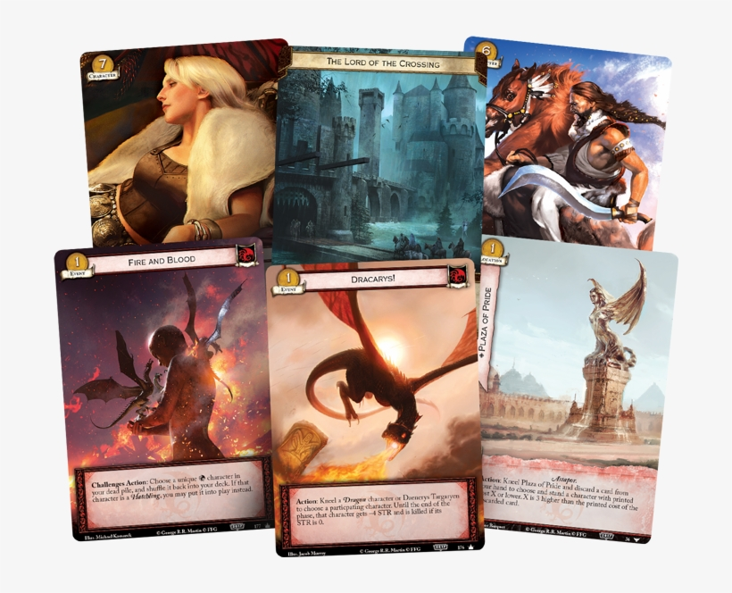 Fantasy Flight Games Is Proud To Announce The 2017 - Game Of Thrones - Lcg Second Edition Core Set, transparent png #5640182