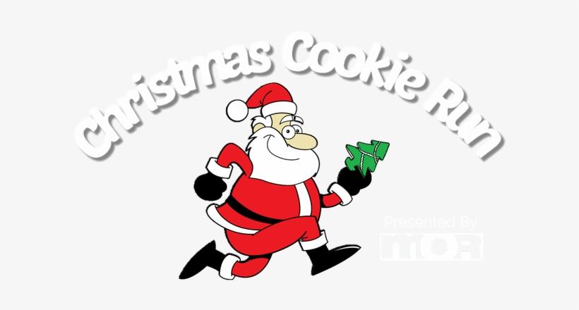 The Christmas Cookie Run Orlando Dec 15th - Santa Run, transparent png #5642967