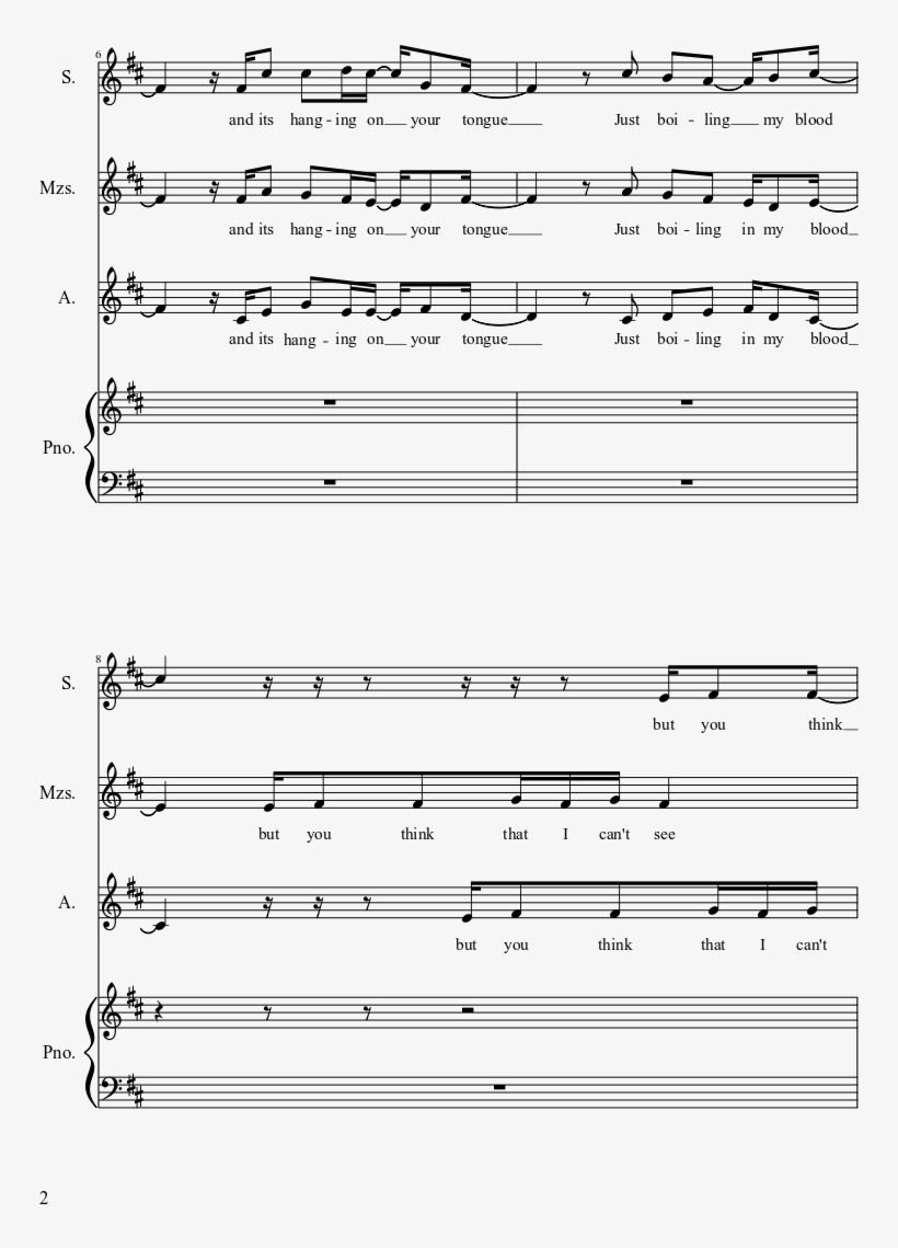 Decode Sheet Music Composed By Words By Hayley Williams,josh - Happy Pharrell Williams Score Piano, transparent png #5647206
