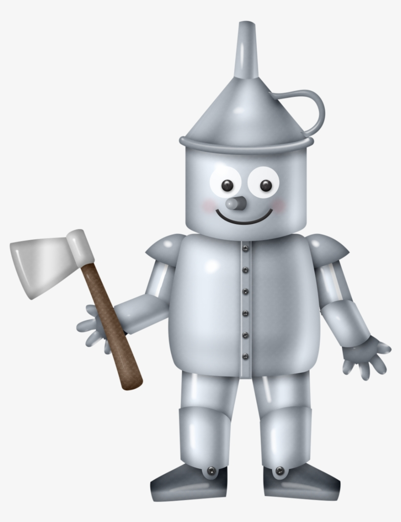 Mágico De Oz Tin Man, Clipart Images, Copic, Creature - Tin Man Clip Art, transparent png #5653832