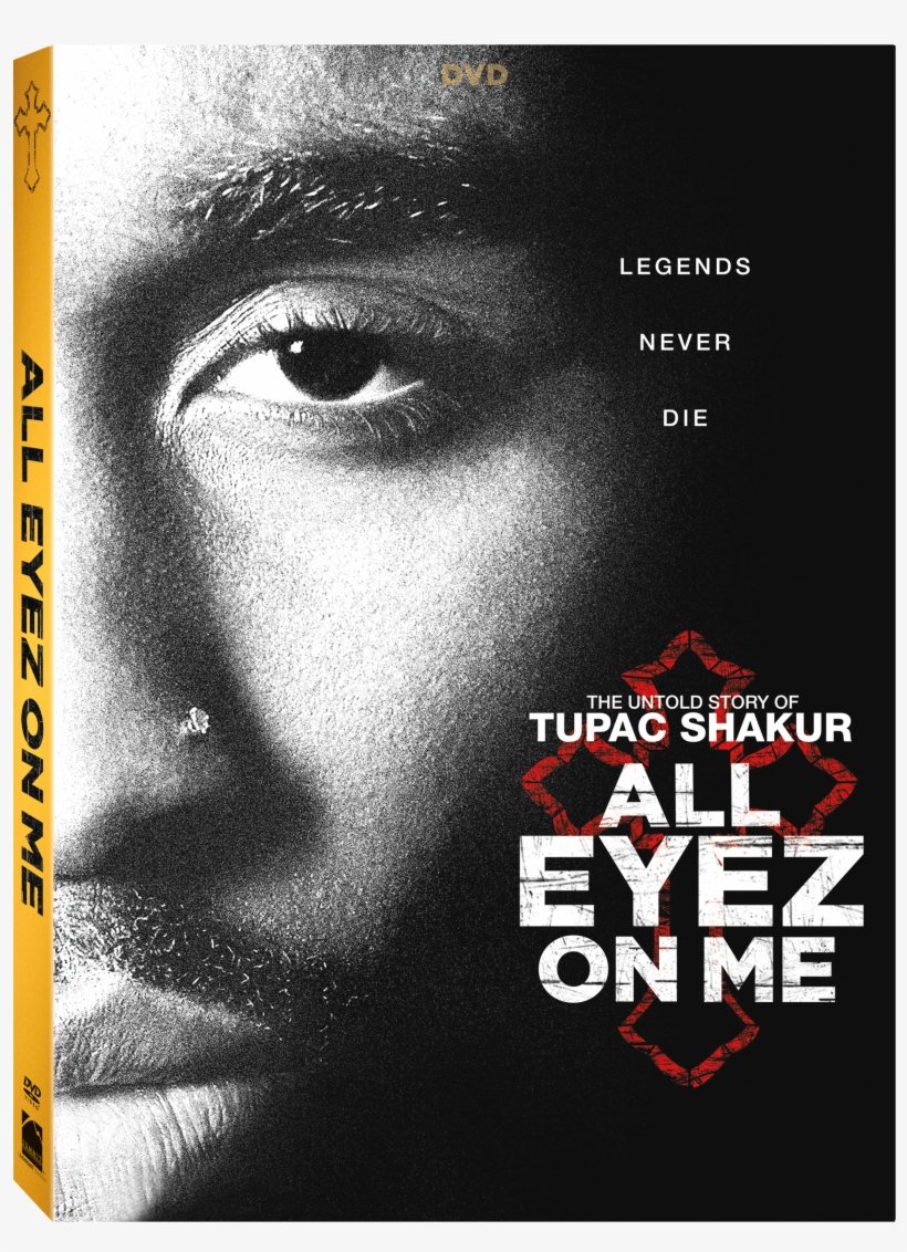 Images - All Eyez On Me Bluray, transparent png #5655674