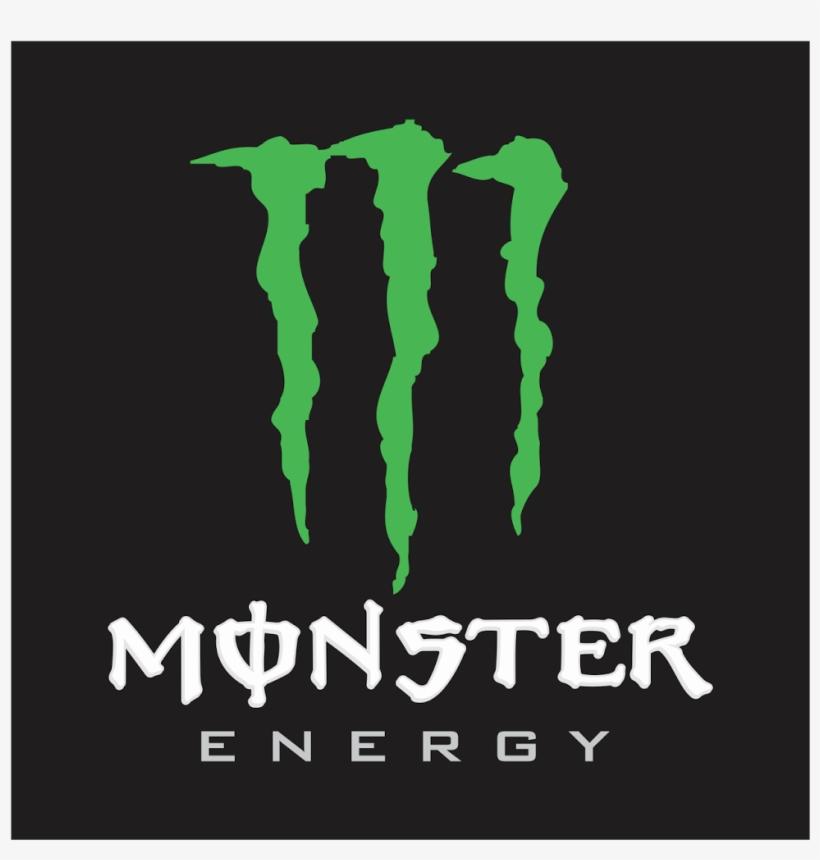 Logo Monster Energy Format Cdr & Png - Logos De Motocross Vectorizados, transparent png #5662132