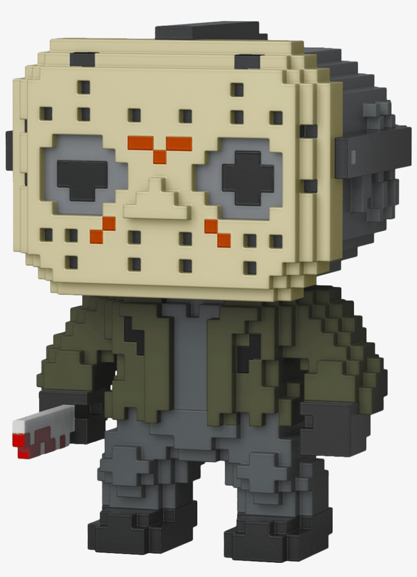 Friday The 13th - Funko Pop Jason Voorhees 8 Bit, transparent png #5670355