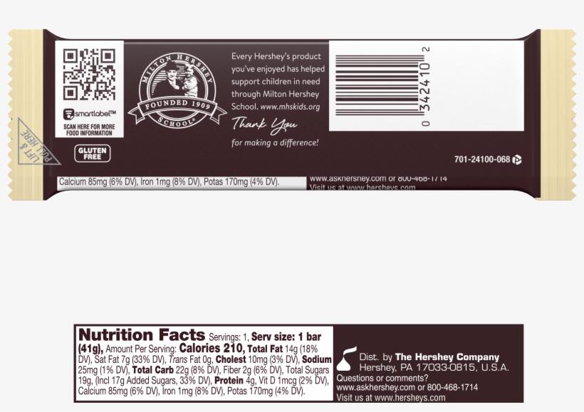 Hershey's Milk Chocolate - 7 Oz Bar, transparent png #5673533