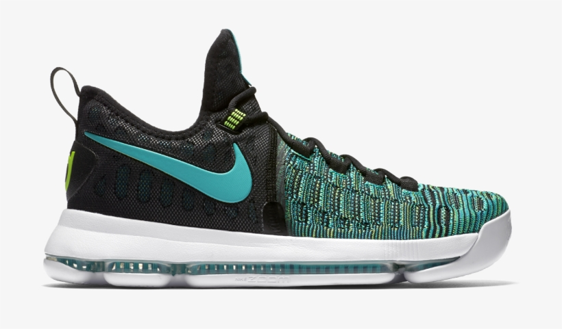 Also On The Way In Terms Of Multicolor Durant Sneakers - Nike Kd 9 - Mens Basketball Shoes Black/green Size, transparent png #5676010
