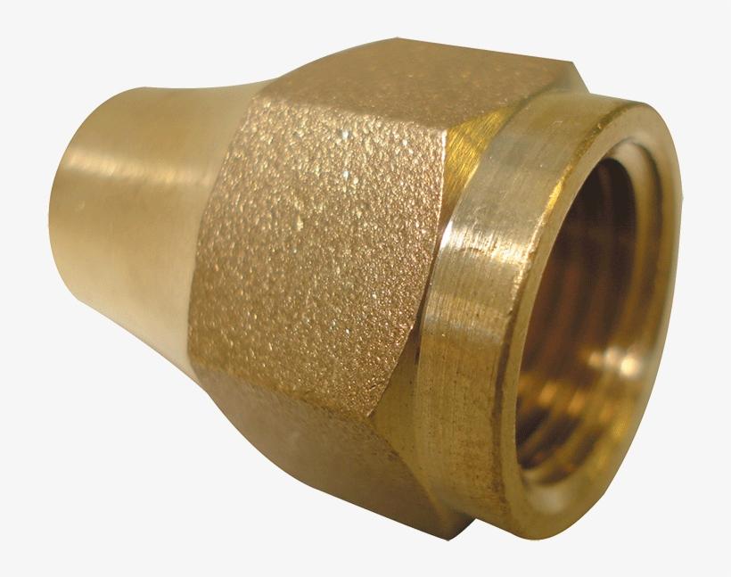 "Gas Flare Nut 3/8"""" - Nut, transparent png #5677392"