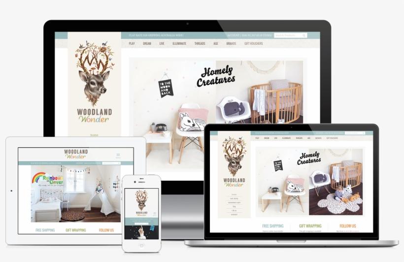 Custom Wordpress Ecommerce Website - Web Design, transparent png #5681315