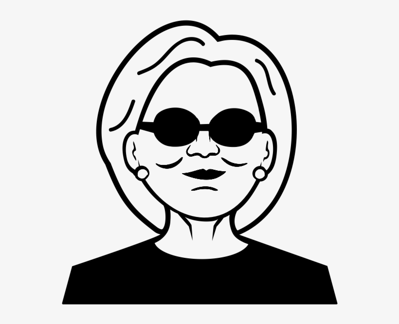 Hillary Clinton Rubber Stamp - Fake News By Mike Haskins, transparent png #5681500
