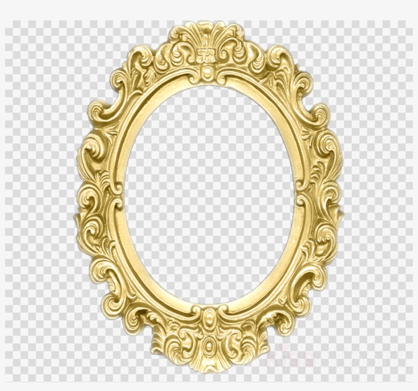 Oval Silver Frame Clipart Picture Frames Ornament