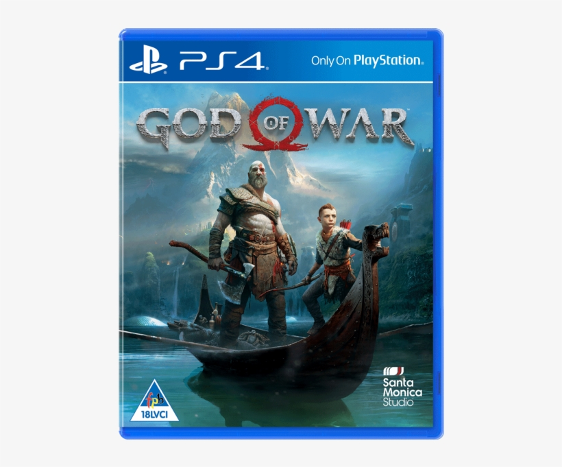 God Of War Standard Edt - Sony God Of War - Playstation 4, transparent png #5687759