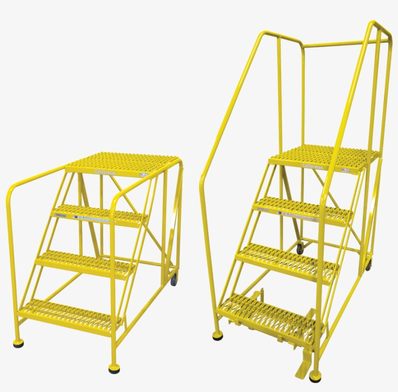 2-4 Step Work Platforms Available With And Without - Best Tools Direct Work Platform, 4 Step, Steel, 70in., transparent png #5689788