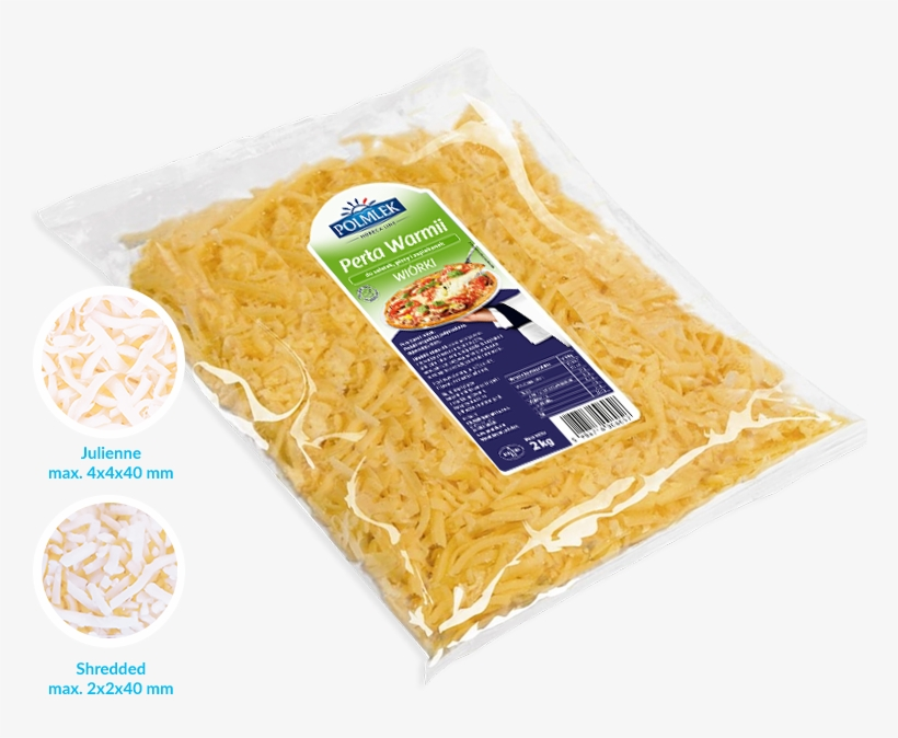 Cheese Spreads Are Known And Liked Products In Convenient - Polmlek Pizza Mix Wiórki 2kg, transparent png #5690822