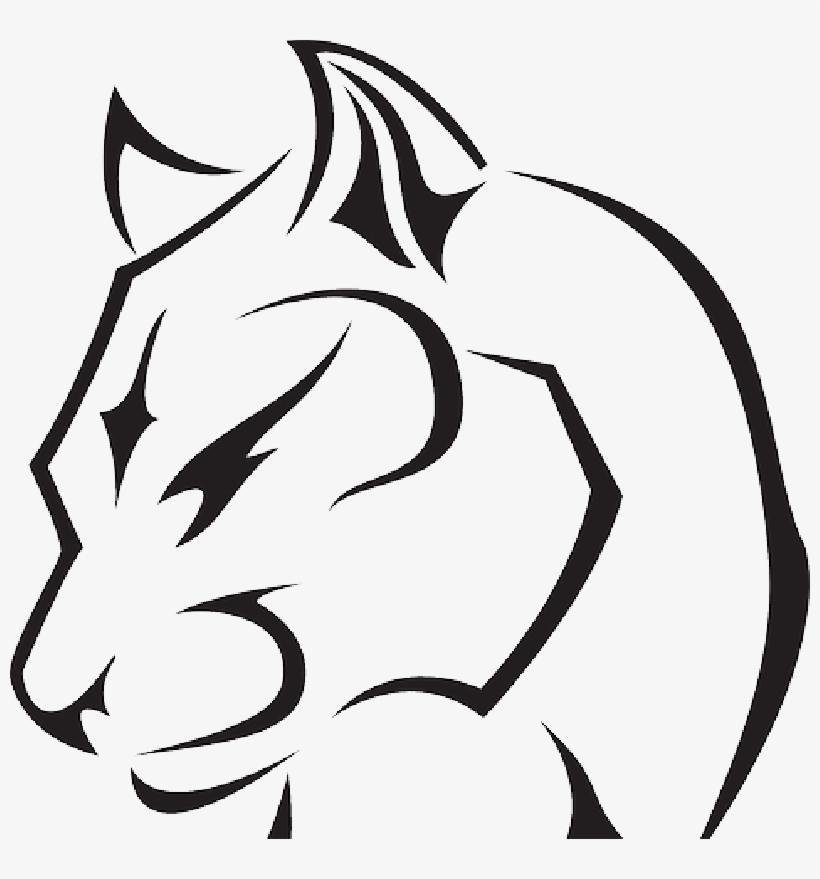 Panther Equipment Rental Black Panther Drawing Animal Free Transparent Png Download Pngkey